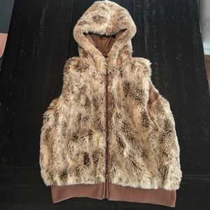 Moda International Faux Fur Vest
